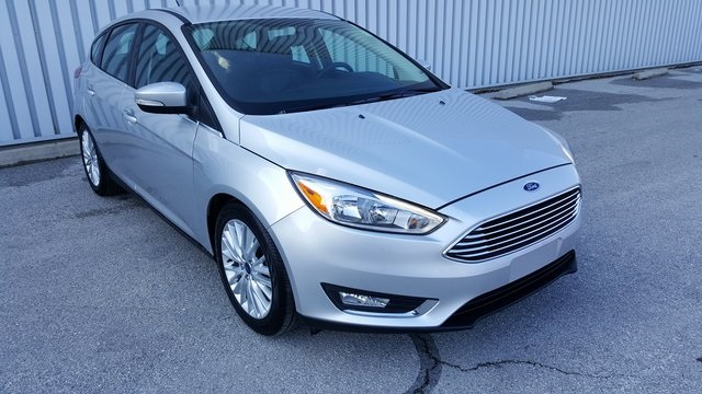 Pre Owned 2016 Ford Focus Titanium 4D Hatchback in Columbia UC